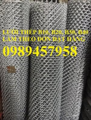 Cung cấp lươi thép b30 bọc nhựa, Lưới thép làm chuồng gà B30 30x30