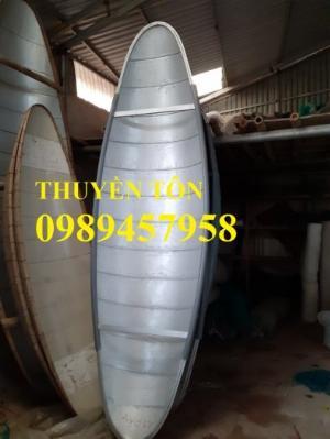 Thuyền tôn/Inox chèo tay, tải trọng 250kg