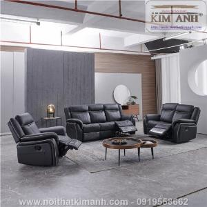 Sofa da cao cấp cho phòng khách thêm sang trọng tại Bến Cát, Bình Dương