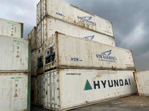 Container lạnh bảo quản thịt bò đông lạnh