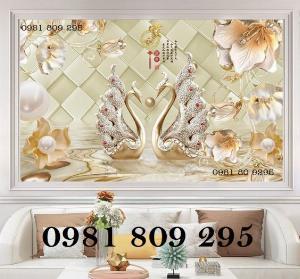 Tranh gạch men - tranh 3d hoa ngọc