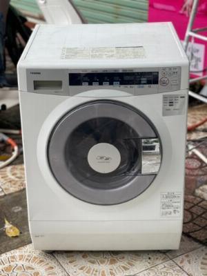Máy giặt nội địa nhật TOSHIBA TW-S80FA - date 2010 giặt 8Kg sấy 4.5kg