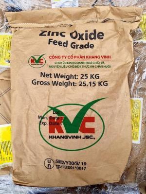 Kẽm oxit ( Zinc oxide - ZnO) hàm lượng 72% 75%