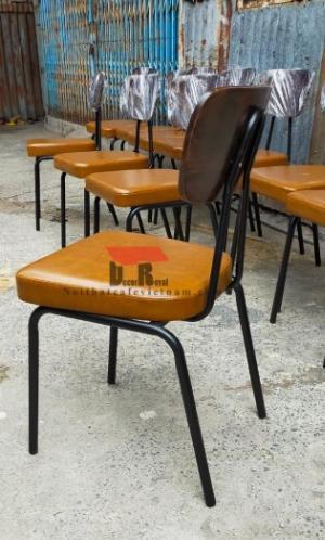 Ghế sắt cafe PCM cổ điển