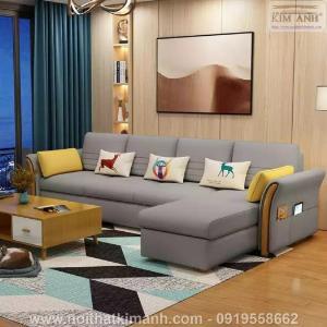 15 Bộ sofa góc chữ L đẹp bằng gỗ da và vải bán chạy nhất 2021 tại Bình Dương