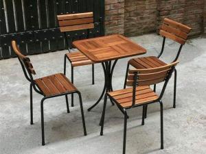 Bàn ghế cafe giá sỉ tại xưởng sản xuất anh khoa HCM 4677