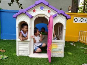 Nhà cổ tích trẻ em cho trường mầm non, khu vui chơi, quán cà phê