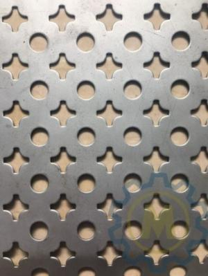 Tôn dập lỗ có hình tròn, hình hoa thị, hoa văn, lục giác, hình thoi,