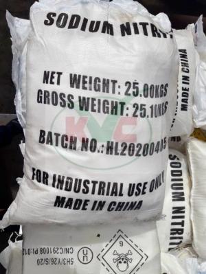 Natri Nitrit Sodium Nitrite NaNO2 công nghiệp
