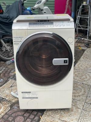 Máy giặt Sharp ES-V510 giặt 10kg sấy 6kg, giặt bằng hơi nước nóng giảm nhăn , sấy khô 100%