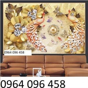 Tranh phòng ngủ - tranh gạch 3d trang trí phòng ngủ - SKH5