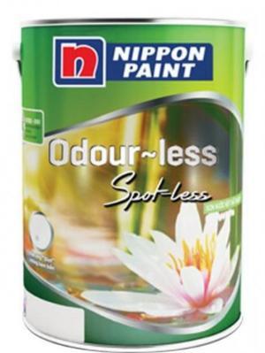 Đại lí cấp 1 dòng Sơn nội thất Nippon Odourless Spot_Less