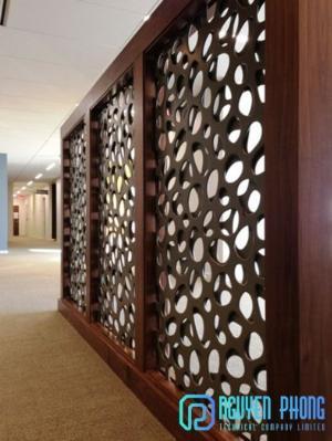 Thiết kế vách ngăn ấn tượng, sáng tạo, tạo hiệu ứng trang trí nhà cửa đẹp, khác biệt