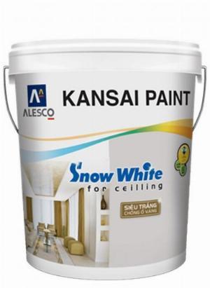 Chuyên cung cấp dòng Sơn nội thất Kansai Snow White