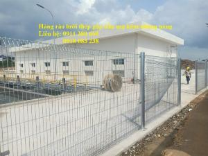 Hàng rào lưới thép mạ kẽm nhúng giá tốt nhất Hà Nội- Nhật Minh Hiếu