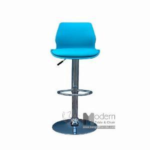 Ghế bar tăng giảm chiều cao thân nhựa nệm ngồi simili hiện đại