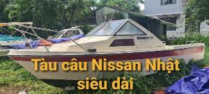 Bán cano gia đình Nhật Nissan  có 1 phòng ngủ, dài 7m
