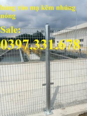 Hàng rào khu công nghiệp, hàng rào mạ kẽm, hàng rào sơn tĩnh điện sự lựa chọn tối ưu giá tốt nhất tại Hà  Nội