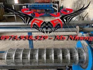 Sản xuất lưới thép hàn mạ kẽm - lưới hàn ô vuông Phi 4 ( 50x 50 ) giá ưu đãi hàng có săn giao hàng toàn quốc
