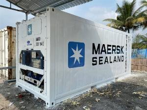 Container lạnh tủ đông lạnh bảo quản hàng hóa