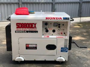 Máy phát điện chạy dầu Honda SD8800ex 5kw dùng cho gia đình