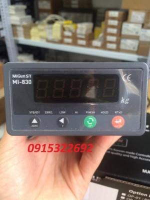 MI830 - Đồng hồ cân Hàn Quốc chuyên dùng cho trạm trộn, cân đóng bao, cân sàn...