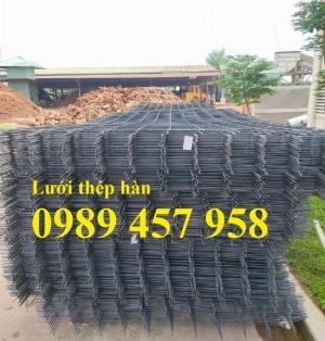 Tấm lưới thép đổ sàn chống nóng, Lưới chống nứt, Lưới đổ bê tông công trình