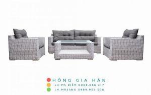 Sofa mây nhựa Hồng Gia Hân SM344