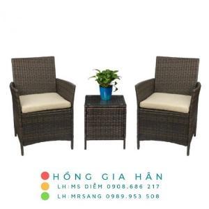 Sofa mây nhựa Hồng Gia Hân SM349