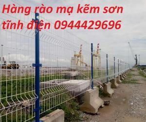 Sản Xuất Hàng Rào Lưới Thép Hàn D3, D4, D5,D6
