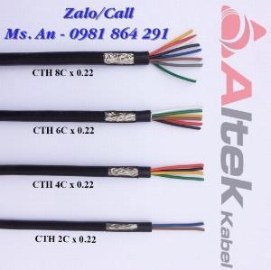 Cáp tín hiệu 2,4,6,8 lõi chống nhiễu hàng chất lượng giá tốt