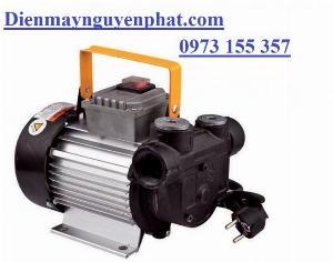 Bơm dầu diesel NYB-60B AC chạy điện 220V, bơm dầu diesel mini điện 1 pha 220V