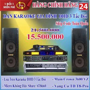 Dàn Karaoke Gia Đình DHD 3 Tấc Đôi - Huynh Phát Audio