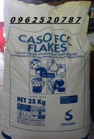Canxi Chlorua Ý – CaCl2.2H2O