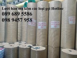 Lưới thép dây 1ly ô 10x10, 20x20, Lưới hàn bọc nhựa, Lưới hàn mạ kẽm