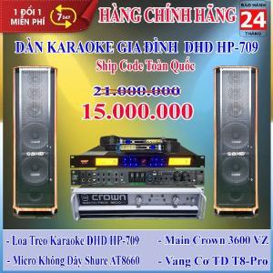 Dàn Karaoke Gia Đình DHD GD HP-709 - Huynh Phát Audio