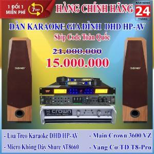 Dàn Karaoke Gia Đình DHD GD HP-AV - Huynh Phát Audio