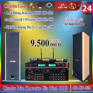 Dàn Karaoke Gia Đình DHD GD-HP-502 Huynh Phát Audio