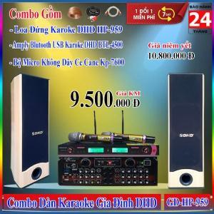 Dàn Karaoke Gia Đình DHD GD-HP-959 Huynh Phát Audio