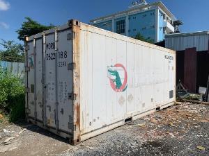 Thùng container lạnh 20feet hàng Nhật