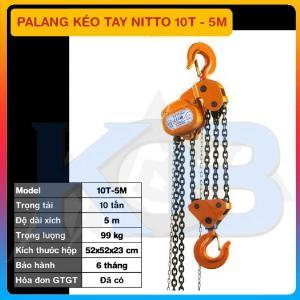 Palang kéo tay NITTO 10T-5M