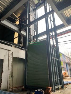 Thang nâng hàng kho xưởng 1000kg