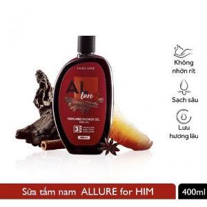 Sữa Tắm Nước Hoa Laura Anne Allure For Him 400ml