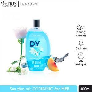 Sữa Tắm Nước Hoa Laura Anne Dynamic For Her 400ml