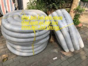 Ống ruột gà hút bụi, ống gân nhự hút bụi, ống hút bụi ngành gỗ phi 125 mm , cuộn dài 30m