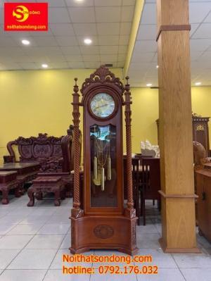 Đồng hồ hoa lan tây trụ nghệ thuật
