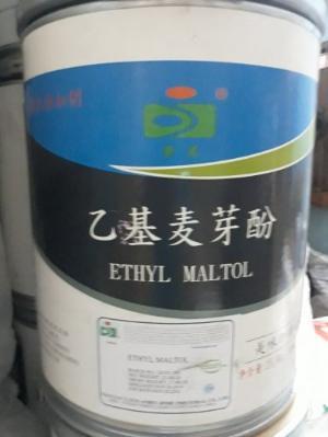 Chất kích hương Ethyl Maltol - China 25kg/thùng