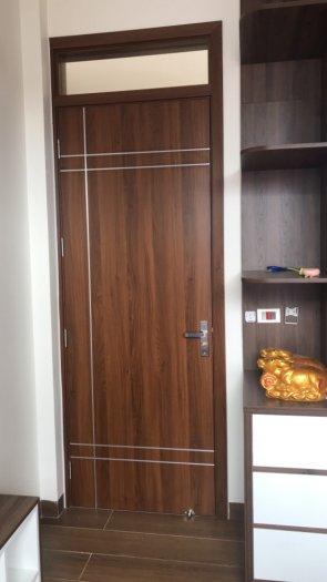 Cửa gỗ nhựa Bắc ninh, cửa composite Bắc Ninh chịu nước, không cong vênh, mối mọt