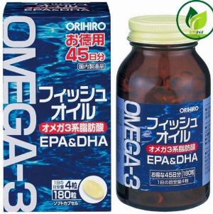 Dầu cá Omega 3 Orihiro Nhật Bản