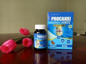 Procanxi Forte - Bổ sung canxi cho xương chắc khỏe